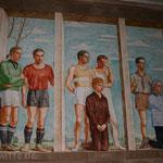 Wandmalerei Esglesia Santa Ana