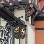 Rathausdetail. - Wernigerode