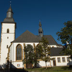 Die Marienkirche. Kirche der Franziskanerbrüder