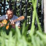 Musiker im Parc Guell