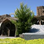 Colonia Guell - Die Krypta von Gaudi