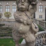 Statue. - Weikersheim
