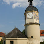 Uhrenturm. - Burghausen