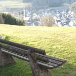 Pause. - Winterberg-Züschen