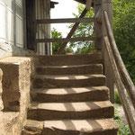 Treppenaufgang. - Bad Windsheim