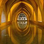 Grotte im Alcazar. - Sevilla