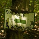 Wanderschild. - Solingen-Müngsten