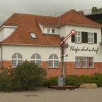 Der alte Bahnhof in Sassnitz auf Rügen