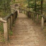 Treppen zur Quelle