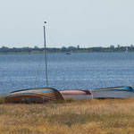 Boote. - Insel Hiddensee
