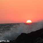 Sonnenuntergang in Limionas