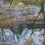 Spiegelgericht. - OLG-Altbau in Oldenburg
