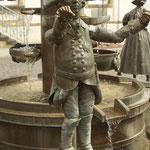 Brunnendetail am Marktplatz
