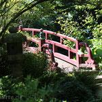Brücke. - Leverkusen, Japanischer Garten