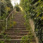 Treppenviertel in Blankenese.