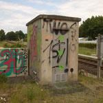 """""""Kunst"""" an der Strecke"""