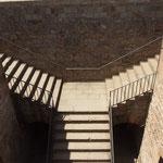 Treppenaufgang - Kastell, Barcelona