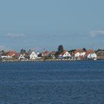 Der Hafen von Neuendorf auf Hiddensee