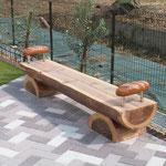 アルドール  木製ベンチ