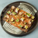 Assiette grès noir émaillé - LO'riginal à Chimay