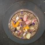 Assiette grès noir - Julien Lapraille