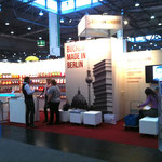 Der Stand von meinem Verlag BoD - Pro Business Berlin.