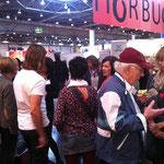 Auf großes Interesse stieß der Autorentreff.