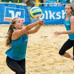 Westdeutsche Beachvolleyball Meisterschaft 2014 in Werl - Nikon D7100, f/4.5, 1/1000 Sek, 105 mm, ISO 280