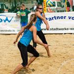 Westdeutsche Beachvolleyball Meisterschaft 2014 in Werl - Nikon D7100, f/4, 1/1000 Sek, 75 mm