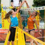 Westdeutsche Beachvolleyball Meisterschaft 2014 in Werl - Nikon D7100, f/4.5, 1/1000 Sek, 105 mm