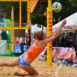 Westdeutsche Beachvolleyball Meisterschaft 2014 in Werl - Nikon D7100, f/3.5, 1/640 Sek, 70 mm, ISO 400