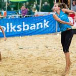 Westdeutsche Beachvolleyball Meisterschaft 2014 in Werl - Nikon D7100, f/3.2, 1/1000 Sek, 102 mm