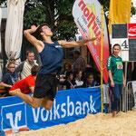 Westdeutsche Beachvolleyball Meisterschaft 2014 in Werl - Nikon D7100, f/5.6, 1/1250 Sek, 75 mm, ISO 280