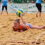 Westdeutsche Beachvolleyball Meisterschaft 2014 in Werl - Nikon D7100, f/3.5, 1/640 Sek, 70 mm, ISO 450