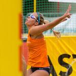 Westdeutsche Beachvolleyball Meisterschaft 2014 in Werl - Nikon D7100, f/4, 1/1250 Sek, 200 mm, ISO 160