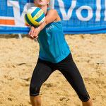 Westdeutsche Beachvolleyball Meisterschaft 2014 in Werl - Nikon D7100, f/4.5, 1/1600 Sek, 135 mm