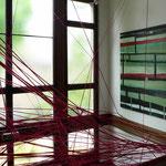 Monika Humm transition 5,  Ausstellungsansicht: Villa Strecchius, Kunstverein Landau/Pfalz, 2013