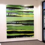 Monika Humm going on 1,  Ausstellungsansicht: Bewegungen im Strom, maihiro, Ismaning, 2010