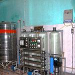 Die Wasseraufbereitungsanlagen werden auf den Grundstücken der Pfarreien aufgebaut