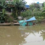 Das Grundwasser und die Flüsse sind stark kontaminiert