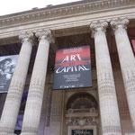 Etreinte exposée au Salon du Dessin et de la peinture à l'eau, Grand Palais, Paris, 2015
