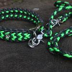 HB Momo & Leine Barney (ultra neon green, emerald green, schwarz)
