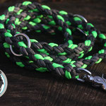 Leine Lafina (ultra neon green, antrazit, charcoal grey, charocal diamonds)