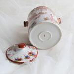 Chinadose mit Deckel für Tee oder Zucker
