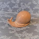 Keramikschnecke terracotta