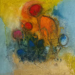 """""""Série 30.II""""- acrylique sur toile- Brigitte Rochas (30X30 cm)"""