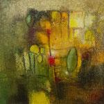 """""""Série 30.IV""""- acrylique sur toile- Brigitte Rochas (30X30 cm)"""