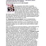 Smago  Nov. 2011  -  CD Besprechung  Kastelruther Spatzen  - Weihnachten bei uns daheim