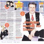 Norbert Rier - Kastelruther Spatzen -  Interview  Meine Melodie Dez. 2011   - FÜR EINEN AUGENBLICK  gehört zu seinen Lieblingsliedern