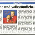 Duo Leuchtfeuer CD Präsentation HALLO FREUNDE 2010